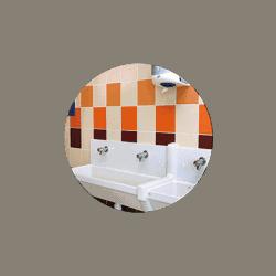 Miroir incassable pour sanitaires en plexichok diamètre 600 mm