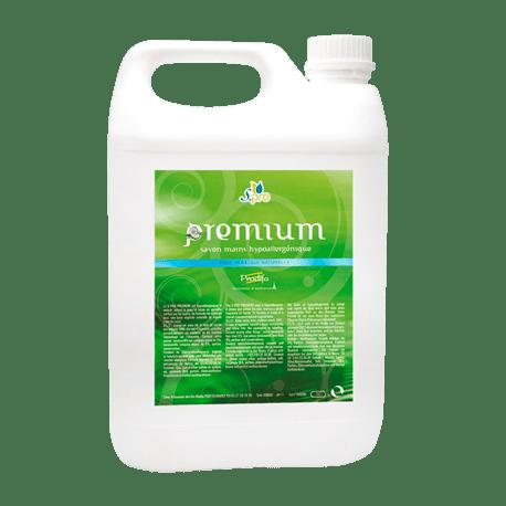 Bidon de 5 litres de Savon liquide mains Pro Premium - LOT DE 4