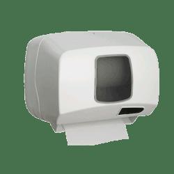 Distributeur d'essuie-mains automatique en ABS - Blanc