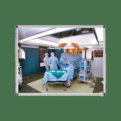 Miroir  en plexichok 600 x 800  mm - avec cadre alu