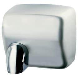 Sèche-mains cyclon automatique acier satiné