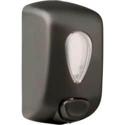 Distributeur de savon liquide manuel - ABS noir