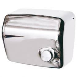 Sèche-mains kai manuel acier brillant